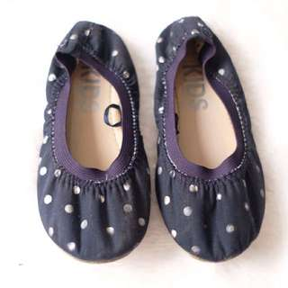 Cotton on flat shoes