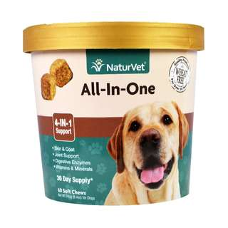 NaturVet All-In-One Soft Chew Cup 60 cts