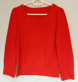 Red Formal Tops