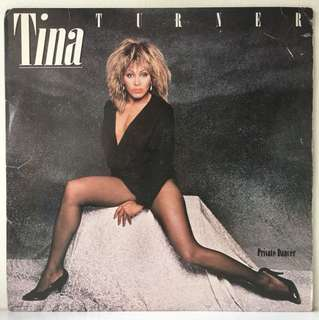 Tina Turner ‎– Private Dancer (1984 USA Original - Vinyl is Excellent)