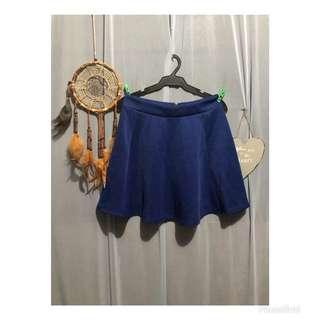 Royal Blue skater skirt #S003