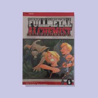 Fullmetal Alchemist Vol. 6 and 17 by Hiromu Arakawa