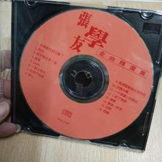 CD 没有画面的张学友金曲
