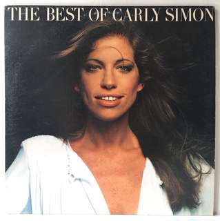 Carly Simon – The Best Of Carly Simon (1975 USA Original - Vinyl is Excellent)