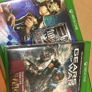 Xboxone 三國無雙/Gears of war4