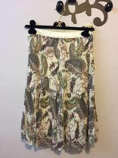 韓國紫色及膝半截裙 skirt