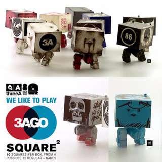 WWR 3AGO Square MK2 (10 packs)