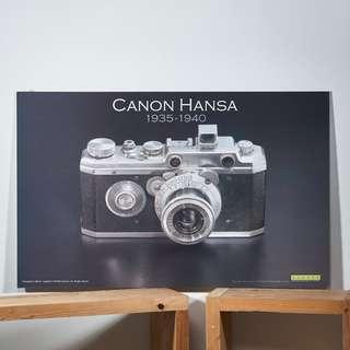 Canon Hansa Poster