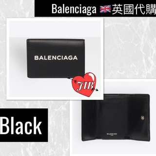 Balenciaga ❤️ EVERYDAY MINI WALLET Mini wallet with front pocket and snap fastening