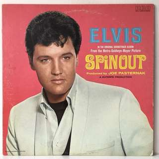 Elvis Presley ‎– Spinout (1977 USA Pressing - Vinyl is Mint)