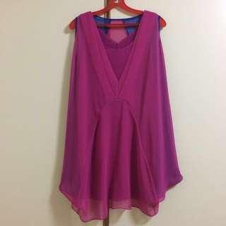 Colour block floaty dress