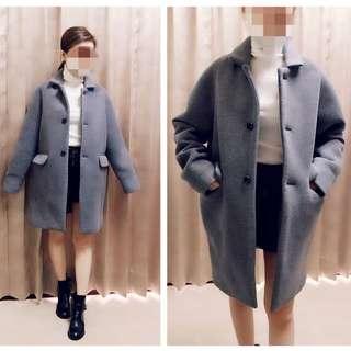 🍭7⃣️折全新 正韓太空棉暖暖羊毛中長版外套($1500)