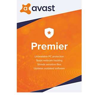 AVAST Premier 2018 for 1PC or 3PCs - Genuine product license key