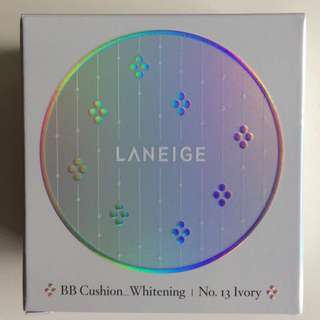 Laneige BB Cushion Whitening Limited Edition with Crystals from Swarovski No. 13 Ivory