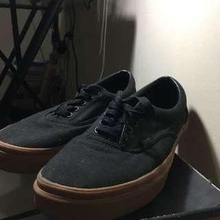 Vans Era Black/Gumsole Shoes Size 10.5
