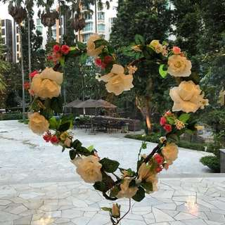 Flower deco for Solemnization