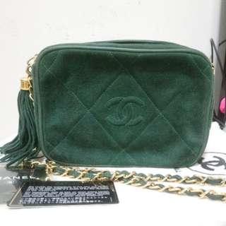 Chanel vintage camera bag