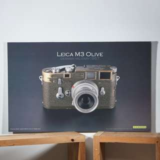 Leica M3 Poster