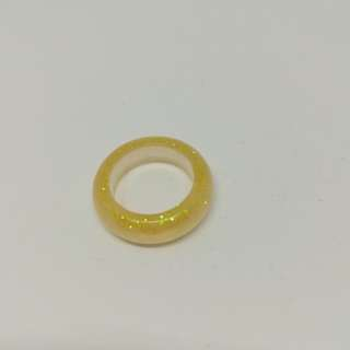 Shinny gold ring size 20mm