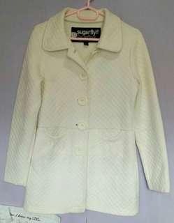 White trench coat