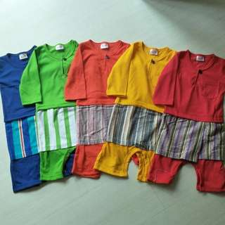 Ready Stocks Boy Kurung Romper