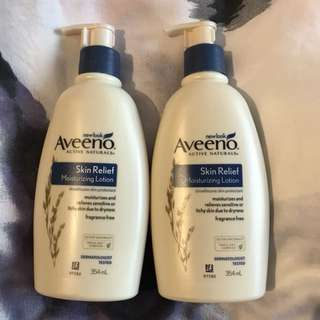 BN Aveeno Skin Relief lotion