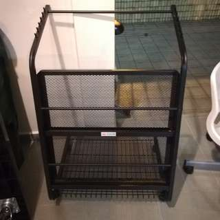 Metal Newspaper Stand / Rack