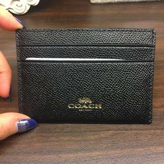 Coach Black Namecard Holder (Authentic/Brand New)