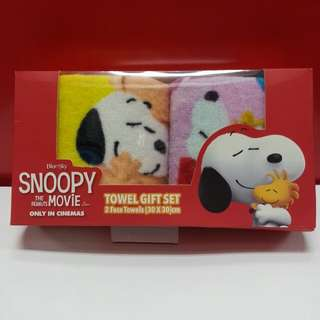 Snoopy 毛巾禮盒
