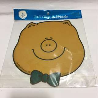 Smiley Piggy Mouse Pad