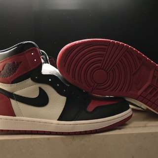 Air Jordan 1 OG Bred Toe us9.5