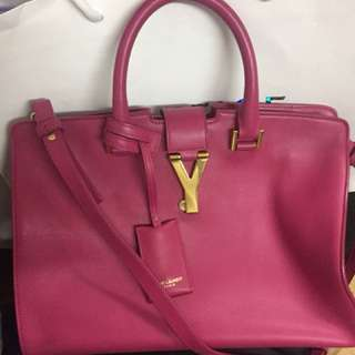 Saint Laurent Fuschia bag