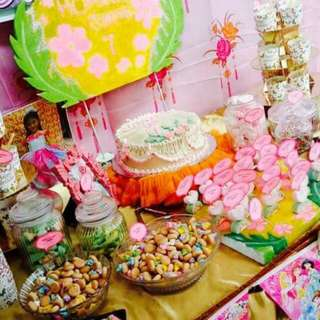 Candy Buffet Set Up