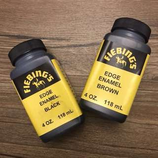 Fiebing's Edge enamel - leather edge paint - 4oz 118ml
