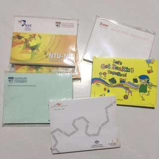 Memo Pads/ Post it