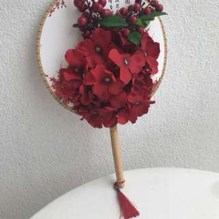 Hand Fan for Chinese Wedding