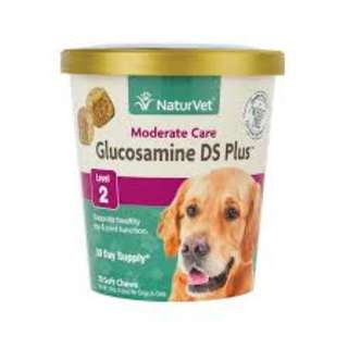 NaturVet Glucosamine DS Plus Level 2 Soft Chew Cup 70 cts
