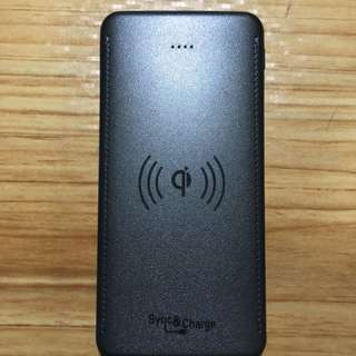 "Pre Loved Original Sync & Charge Wireless Power Bank ""Air Charge"""