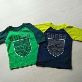 Ready stocks Kids Raglan Tshirt
