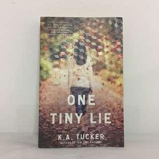 One Tiny Lie by KA Tucker