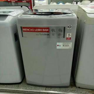 LG mesin cuci 1 tabung bisa kredit tanpa CC tanpa DP