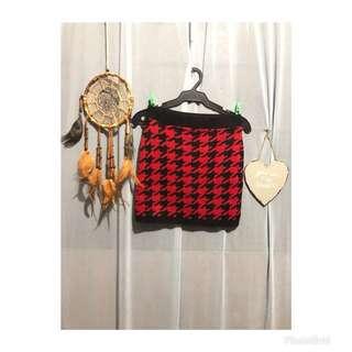 Knitted tulip skirt #S006