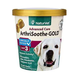 NaturVet ArthriSoothe-GOLD Level 3 Soft Chew Cup 70 cts