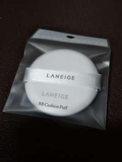 Laneige BB cushion puff