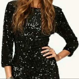 BNWOT Forever 21 Glitter Shimmer Dress