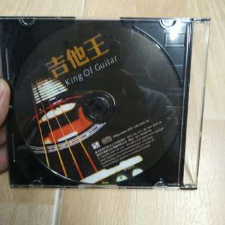 CD 没有画面的…king of guitar 吉他王