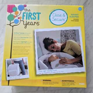 First Years infant co sleeper