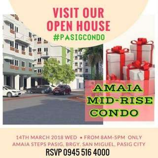 Affordable Mid-Rise CONDO near Ortigas, Eastwood City and BGC