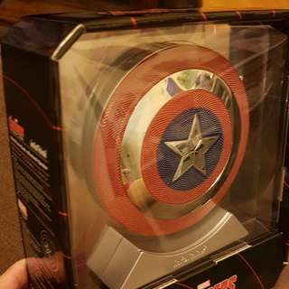 Marvel Avengers Age of Ultron (Shield Power Bank × Bluetooth Speaker) 藍牙立體聲重低音喇叭 ,100%全新