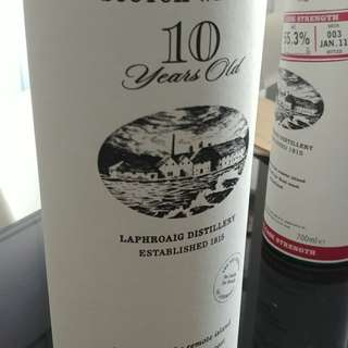 1L Laphroaig 10 years single malt Islay